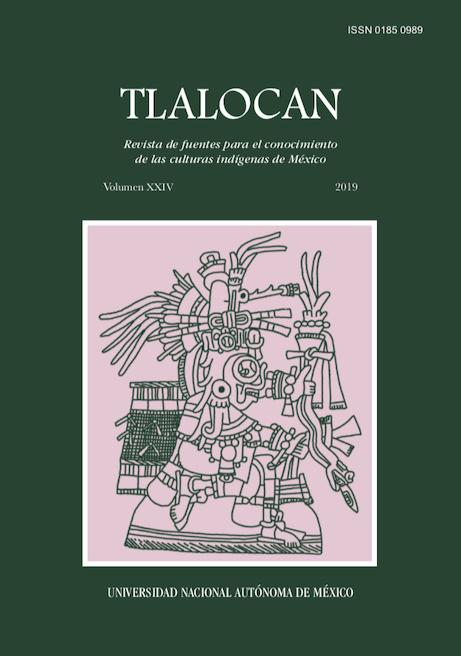 Tlalocan XXIV
